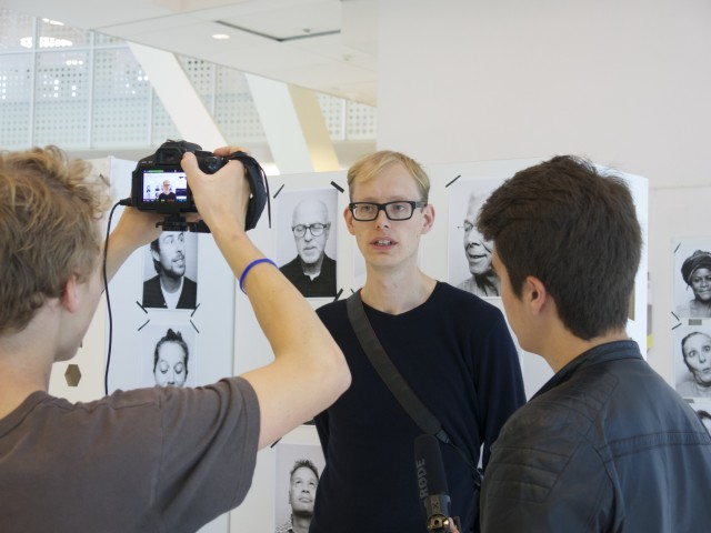 Interview met Johan Nieuwenhuize curator van Platform57 ©2014 Platform57